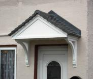 ... front door canopy or a porch canopy. Carisbrooke & Over Door Canopies at APC Architectural Mouldings