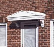 Over Door Canopies At APC Architectural Mouldings