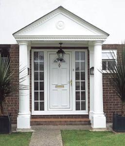 Grp Porticos Door Porticos At Apc Architectural Mouldings