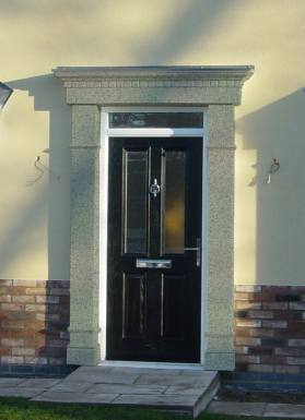 Edwardian Door Surround & Edwardian Door Surround at APC Architectural Mouldings