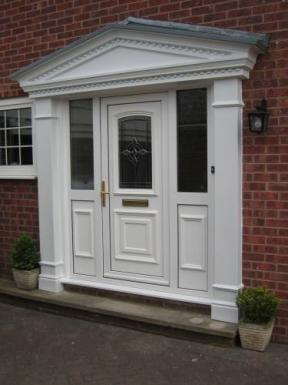Victorian Portico Door Surround