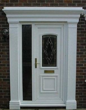 & Extended Georgian Door Surrounds at APC Architectural Mouldings