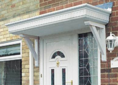 Castledene Overdoor Canopy At Apc Architectural Mouldings