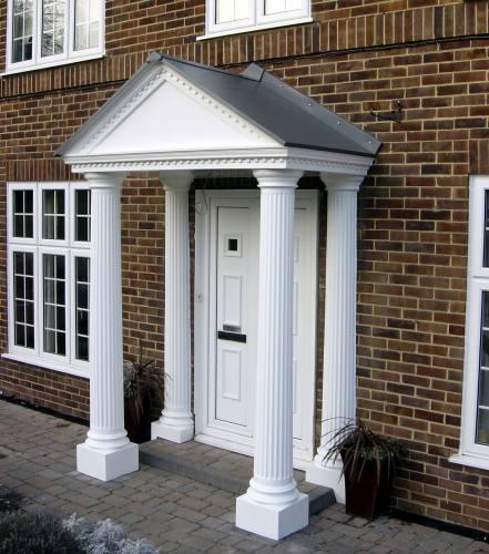 Express Delivery & GRP Porticos | Door Porticos at APC Architectural Mouldings