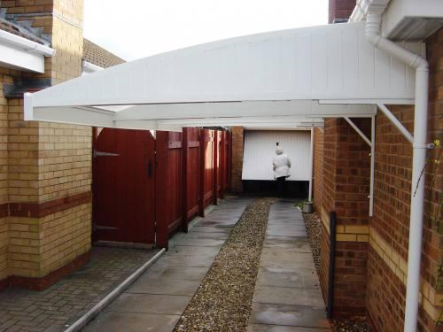 Cantilever Carport Canopy Kits Apc Architectural Mouldings